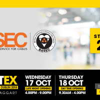 BASEC is attending Electex 2018 - Dublin