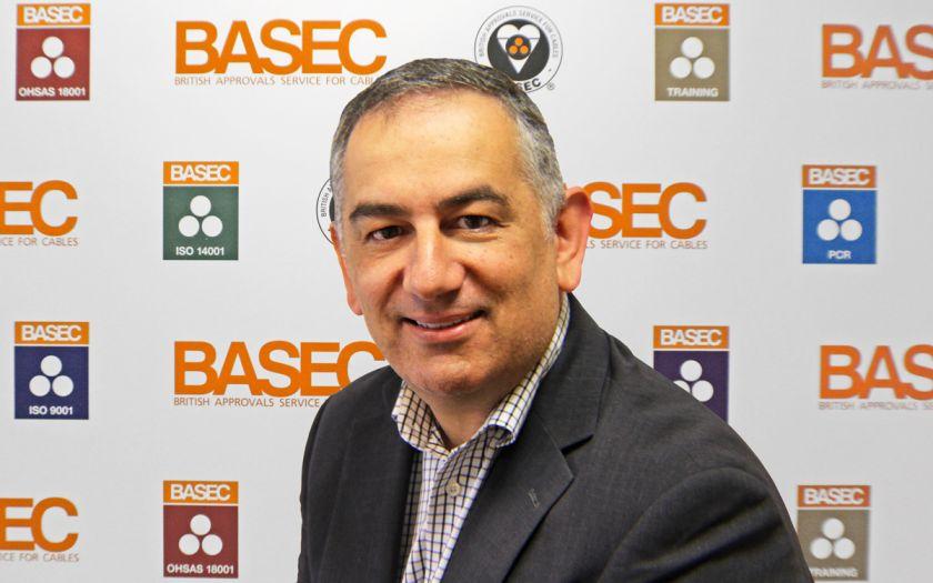 New BASEC Chief Executive Tony Lioveri | Tony Lioveri Square Banner