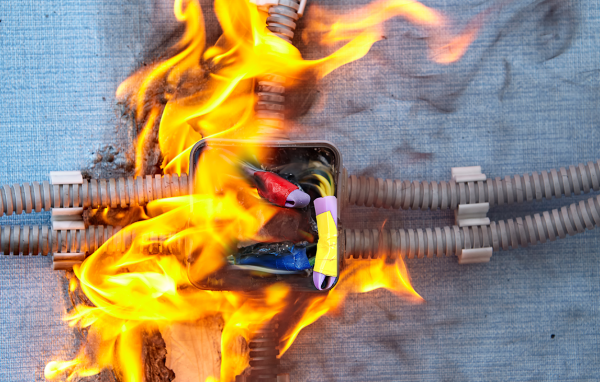 Fire performance cable testing