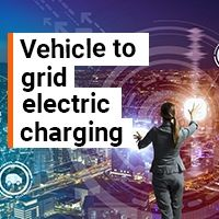 Vehicle to grid electric charging