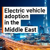 Growing demand for an electric charging infrastructure in the Middle East and Africa