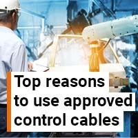 Top 10 reasons to use approved control cables