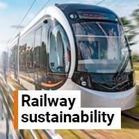 Railway sustainability supported by approved cable products