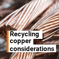 Recycling copper considerations, can more be done in the cable industry to protect the future supply?