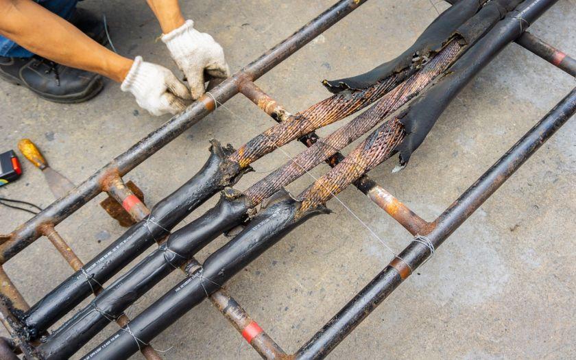 | Shutterstock 1155884362 Burned Cable Ladder Test Web