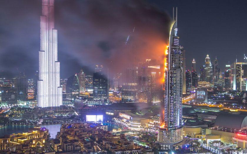 | Shutterstock 781093054 Address Tower Dubai Fire Web