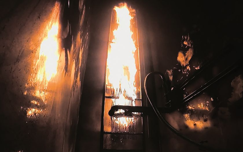 BASEC CPR fire test   Basec Cpr Fire Test