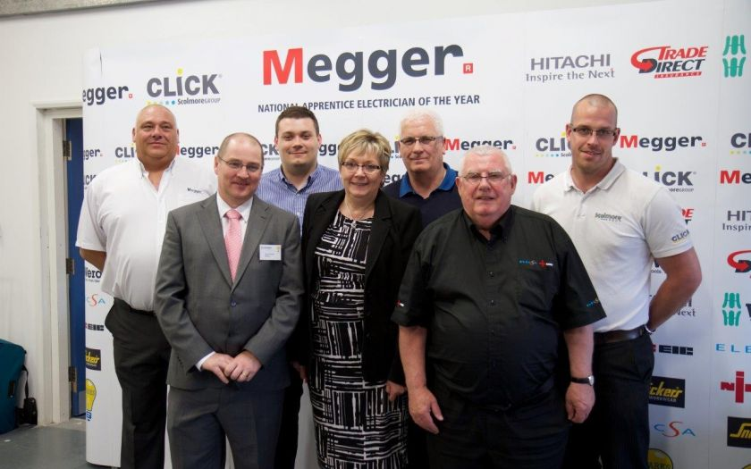 Simon Brown, Technical Coordinator at BASEC at the finals of the Megger National Apprentice Electrician of the Year competition | Basec Sparks Electrician Apprentice Of The Year