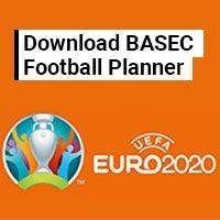 UEFA Euro 2020 Wall Planner