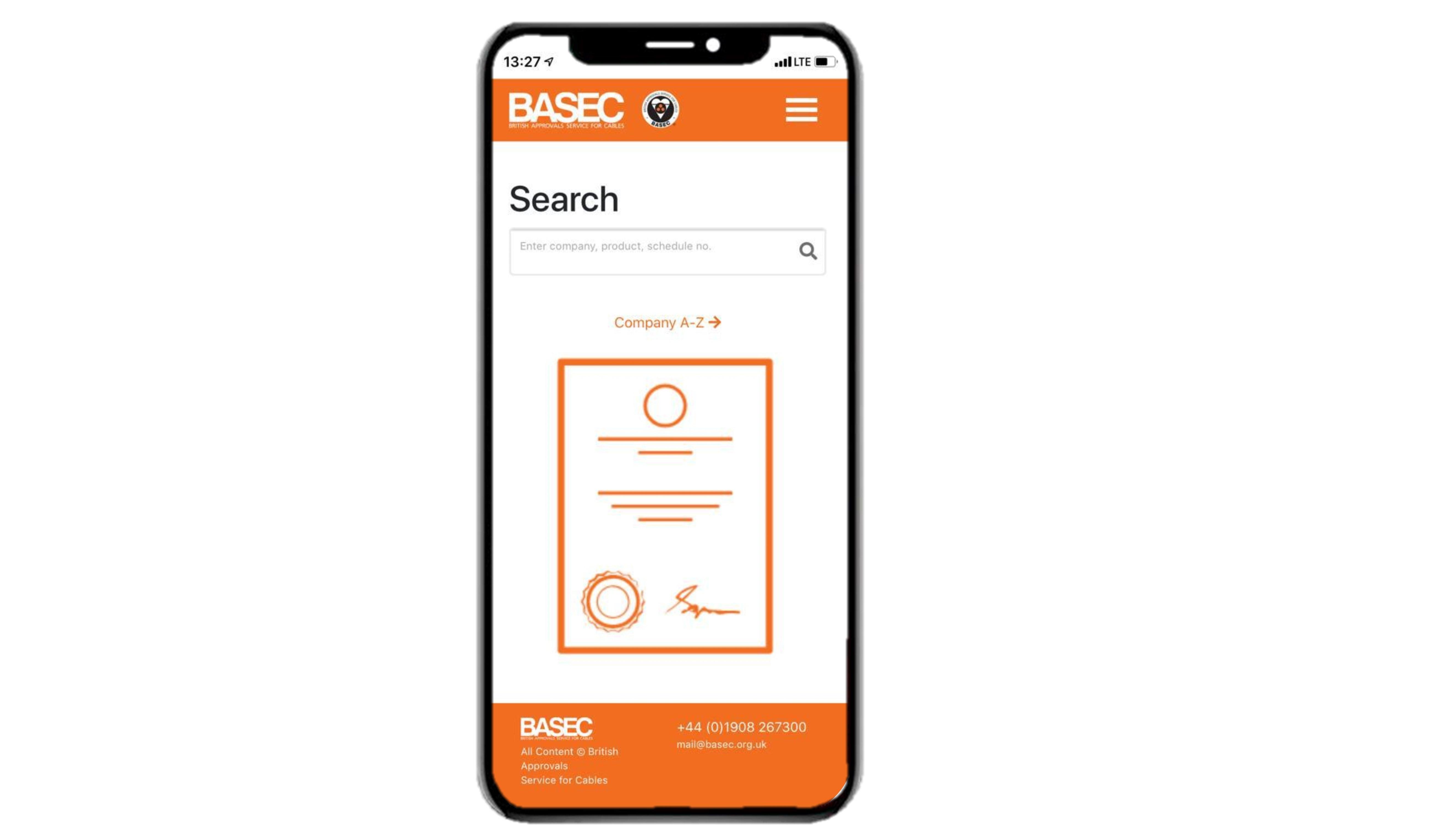 The New BASEC Certification App