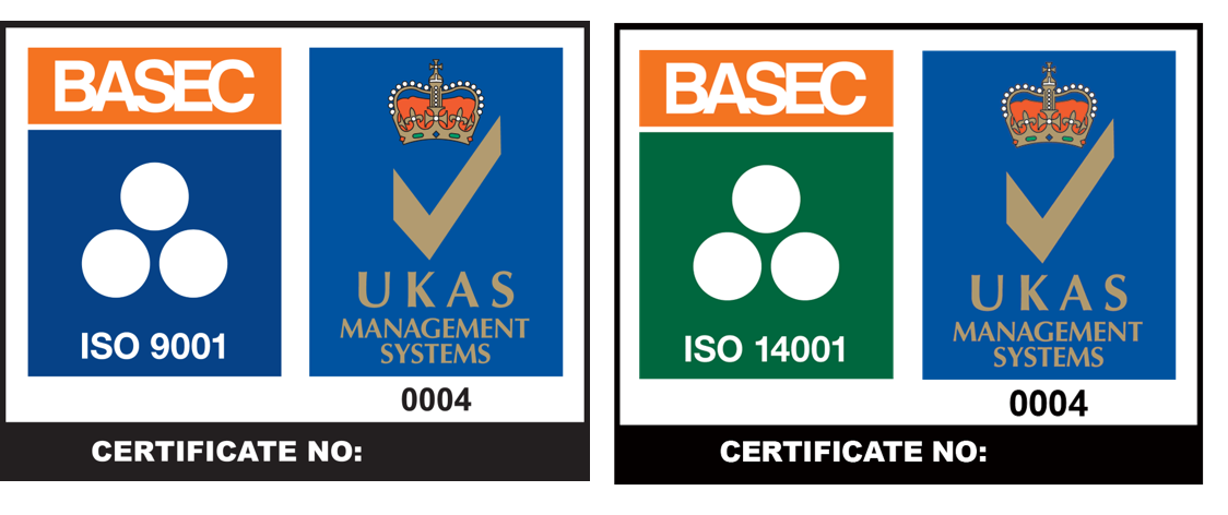 Access management systems approvals from BASEC ISO9001, ISO 14001 and OHSAS 18001 / ISO 45001