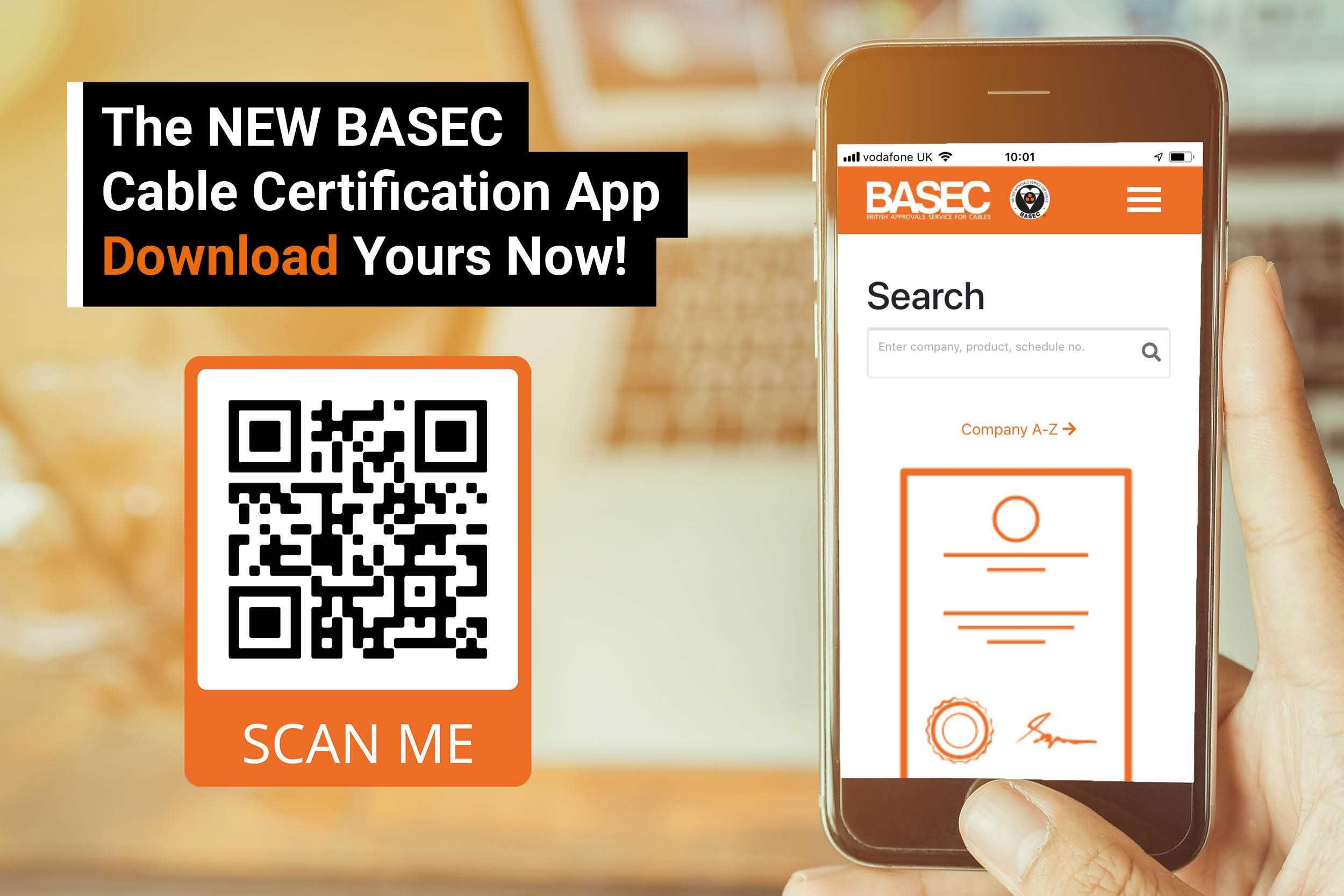 Download the BASEC Certification App
