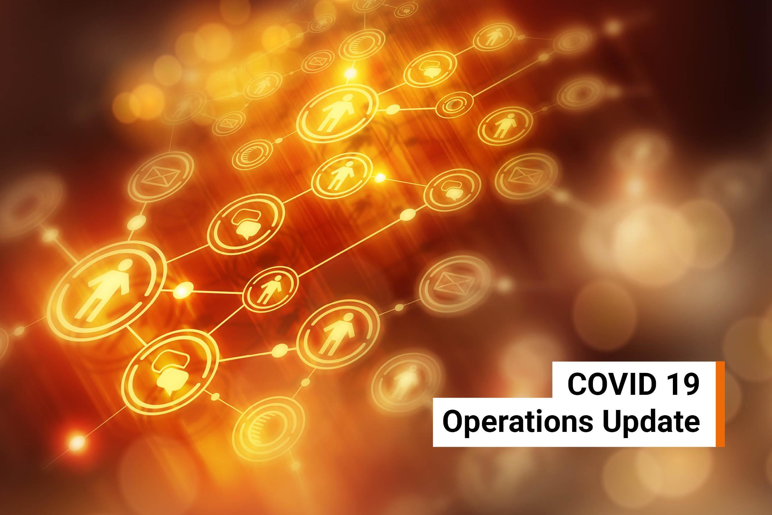 Covid-19-Operations Update