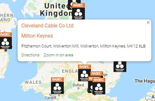 Registered Stockist Selector address feature