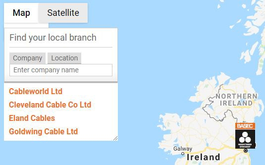 Registered Stockist Selector search bar function